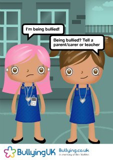USER CREATED: Anti-bullying Poster 67924 by bullyinguk on Flickr.Via Flickr: Poster created using the Bullying UK Anti-Bullying Poster Creator visit www.bullying.co.uk/index.php/make-a-poster.html to create yours, to print this poster visit www.bullying.co.uk/poster/?id=67924 consider making a donation to support our work visit www.justgiving.com/bullyinguk