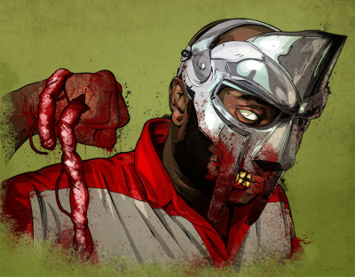 Metal Face Doom by Copperthistle