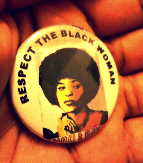 One of my role models. Angela Davis!