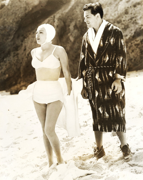 Lana Turner and John Garfield in The Postman Always Rings Twice (1946)