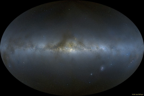 n-a-s-a:  All-Sky Milky Way Panorama