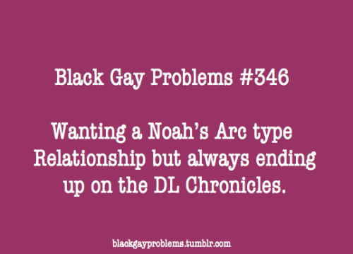 blackgayproblems:  Submitted by
