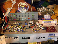 picsfromoccupywallst:  Occupy Lego Land, from Recent Uploads tagged occupywallstreet http://bit.ly/tG44ge