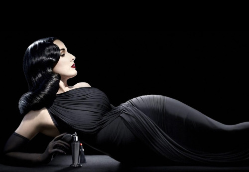 suicideblonde:  Dita Von Teese photographed by Ali Mahdavi for her new perfume Femme Totale