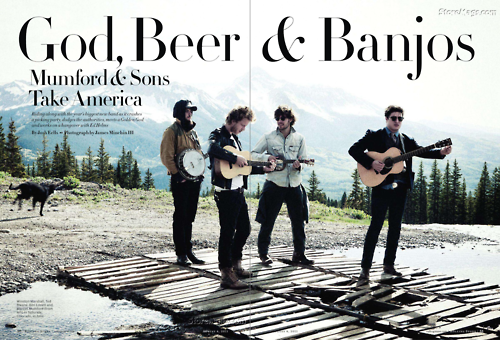 stephaniemex:  God,Beer,Banjos Mumford and Sons  Two out of three isn't bad.