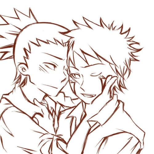 chidorigan:  X  LIKE! :D ShikaKiba just keeps getting easier and easier to ship! <3