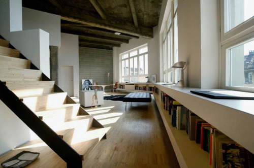 amazing loft (via desiretoinspire)