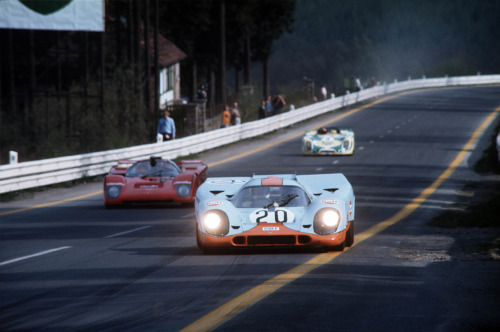 Porsche 917 at the 1000 Km of Spa 1971