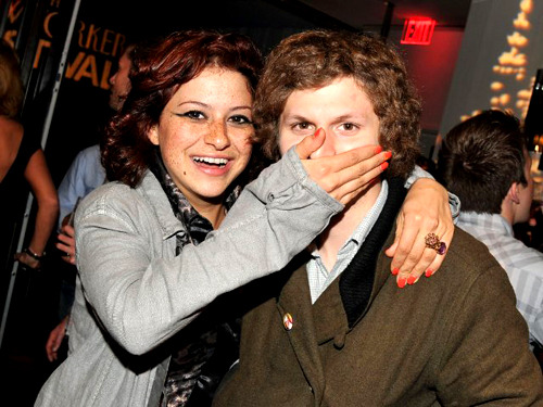 Alia Shawkat and Michael Cera -  making incest cool since 2003.