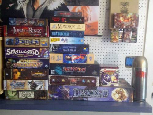 My collection of board games