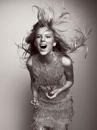 She's even beautiful when she's laughing <3