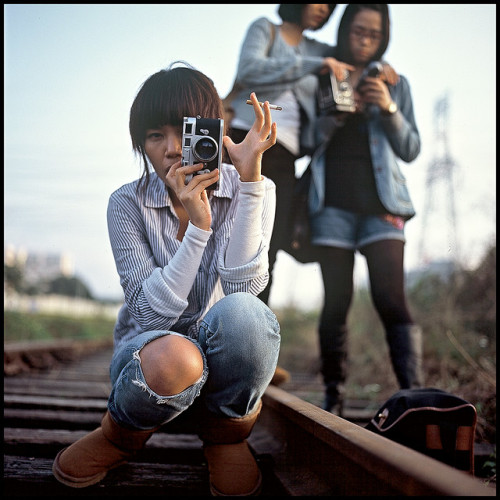 Leica girl by Tommy Tomickey on Flickr.