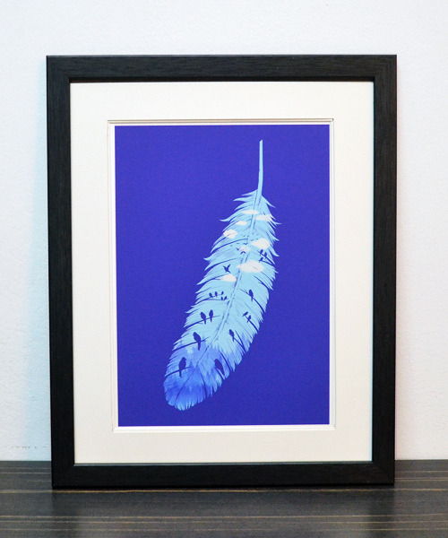"""Feather of Life""  Art Print Website 