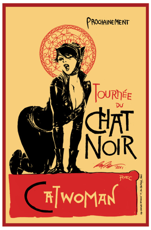 Catwoman - Chat Noir by *rafaelalbuquerqueart on deviantART