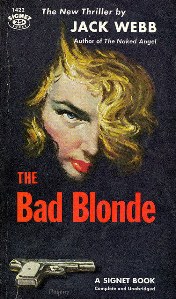 The Bad Blonde by Biff Bang Pow on Flickr.