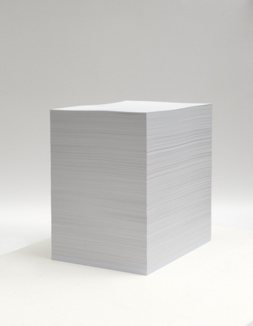 mini-mal-me:  Work No. 391 Sheets of paper, 2004 - Martin Creed