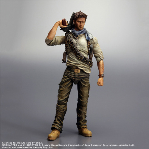 Nathan Drake Figure Now Available for Pre-Order (via: Super Punch)