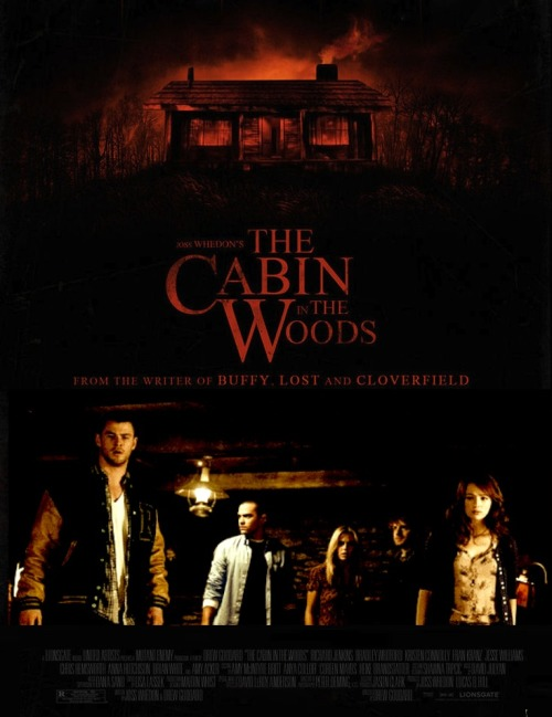 Cabin In The Woods trailer coming next week!