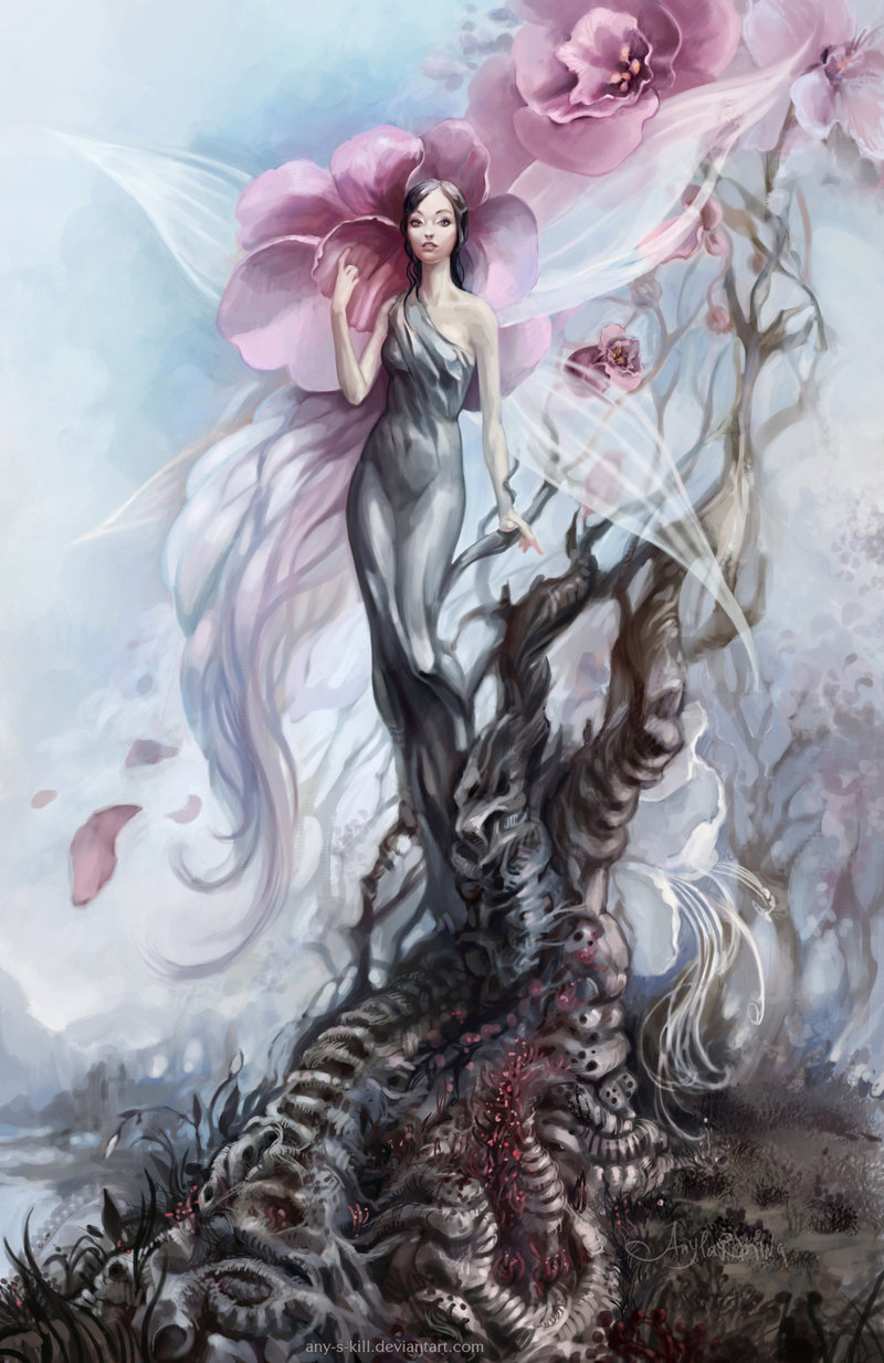 Tree Fairy by ~any-s-kill