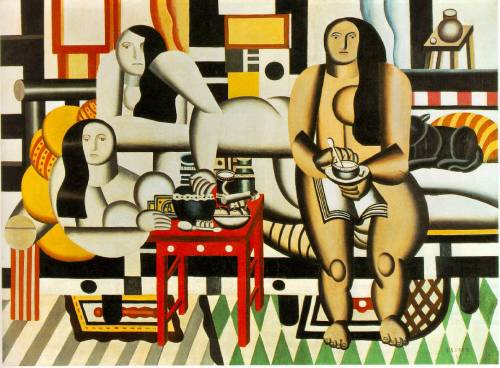 Three Women. Fernand Leger. 1921.