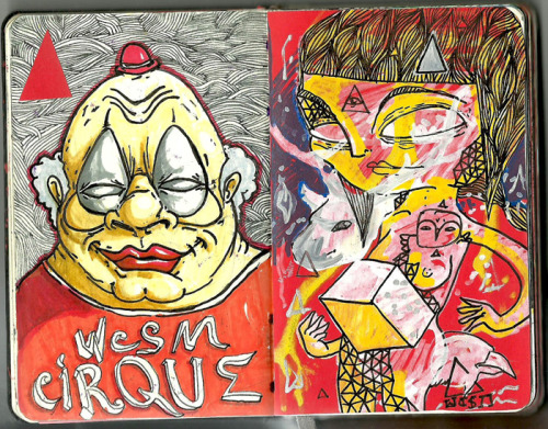 cirque + mad girl by wocsom 2011