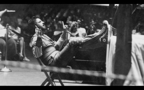 Jimmy Hart looking like a boss! Watching Memphis Heat. Wow, I wish I was alive back then. Wrestling that actually made sense! Punches that looked real! Jerry Lawler as top face/heel?! And this is real King not the parody of himself that he has become! Fuck Yeah! A must watch for all wrestling fans!
