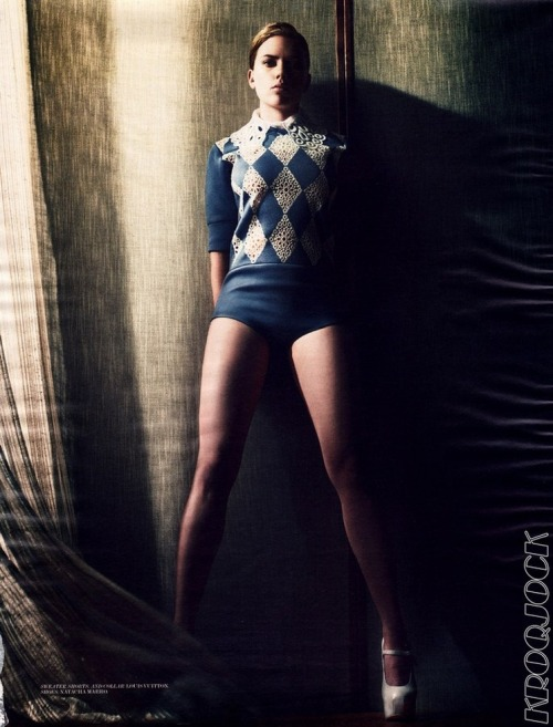 Scarlett Johansson, for Interview Magazine You will also like: more Scarlett.