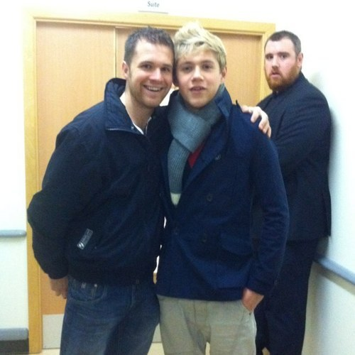 nialler with his brother , Greg . so cute.