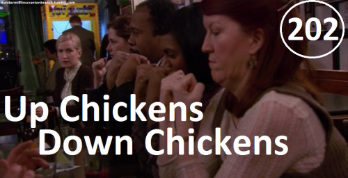Great Things About The Office - #202 - Up Chickens, Down Chickens