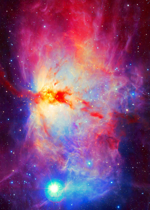 flame nebula - photo #24
