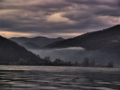 The gray Danube…