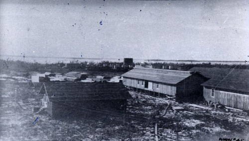 The Florida East Coast Railway Company buildings, Marathon around 1910. Source: Monroe County Public Libraries
