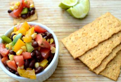 dietribe:  Jalapeno, Lime Black Bean Salsa