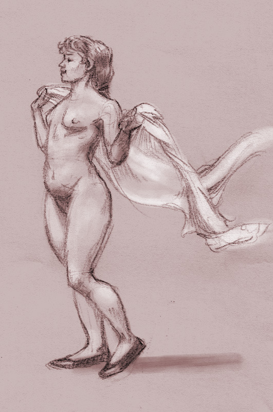 My last Muybridge drawing of sketchbet :) —Chiparoo