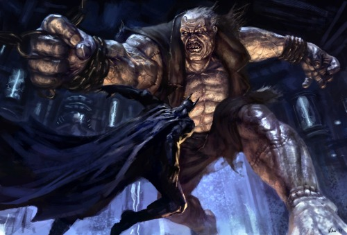 IF YOU HAVEN'T PLAYED ARKHAM CITY RUN FROM THIS POST, RUN. Spoilers ahead. I felt so terrible after defeating him, it's like i'm asshole Batman, the image in my mind of Grundy is the one of the recent animated series, when he dies in the arms of Hawkgirl, poor poor monster. Also, kudos to the design, Grundy's face truly felt like someone who has been dead ( alive ?) for too long. And try to use detective vision and check Grundy's status. Just hilarious. Truly, just one more of tons, TONS of things that make me love this game. WHY THIS GAME IS SO AWESOME ? agent00ice:  Solomon Grundy. Born on a Monday, Christened on Tuesday, Married on Wednesday, Took ill on Thursday, Grew worse on Friday, Died on Saturday, Buried on Sunday. That was the end of Solomon Grundy