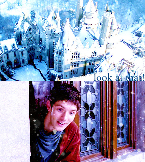 things i wish would happen on merlin that never will          - snowy camelot {suggested by merthuriscanon}