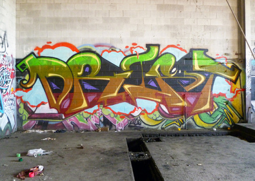 DRIFT. Detroit on Flickr.DRIFT. #Detroit #Graffiti #Graff