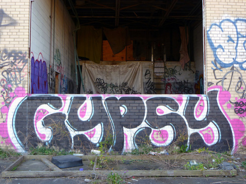 GYPSY. Detroit 2011 on Flickr.GYPSY. #Detroit #Graffiti #Graff