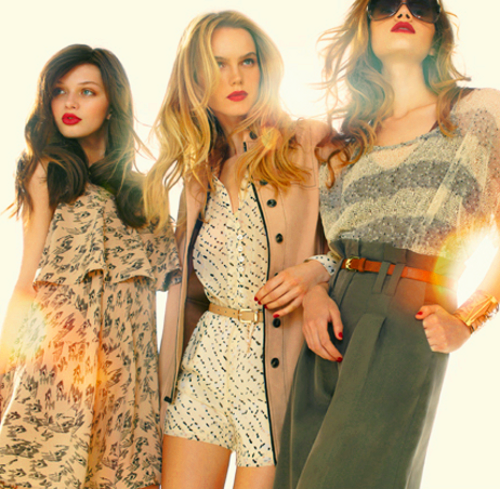 Katya, Mina & Sharon #3 BCBGeneration Fall 2011 Campaign