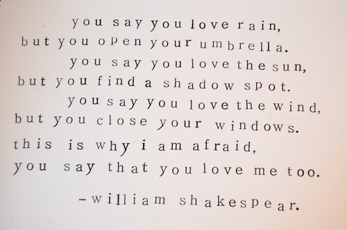 erinmar13:  ShakespearE