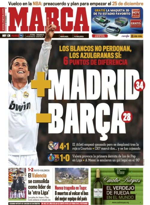 Marca doing their best to be impartial.