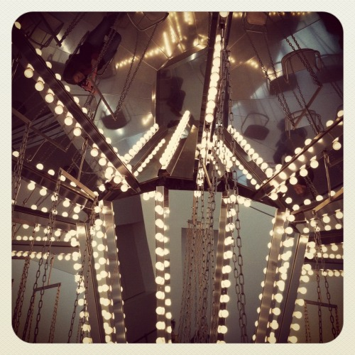 The Carousel installation at the New Museum in New York.