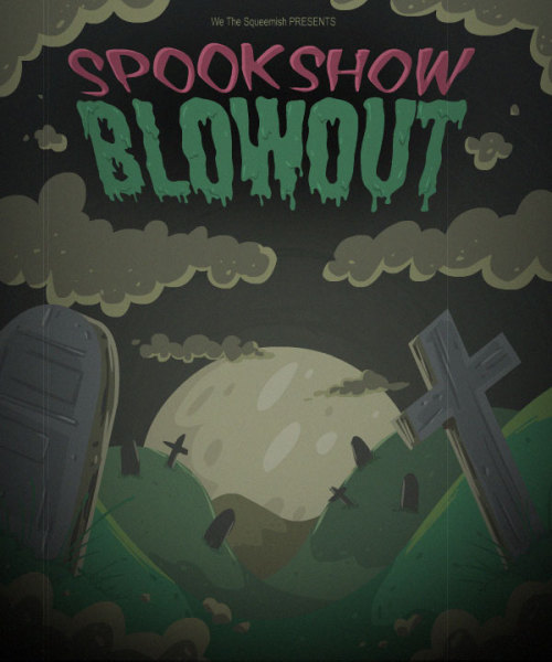 Working on another small game, called Spookshow Blowout!