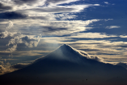 "allaboutindonesia:  Mount Merapi (literally translated as ""Fire Mountain"") is the most active volcano in Indonesia, erupting regularly since 1548. Located in Yogyakarta, Central Java."