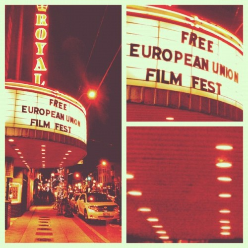 Cinema - #iphoneography #iphonesia #collage #toronto #movies #cinema #nightlife (Taken with instagram)