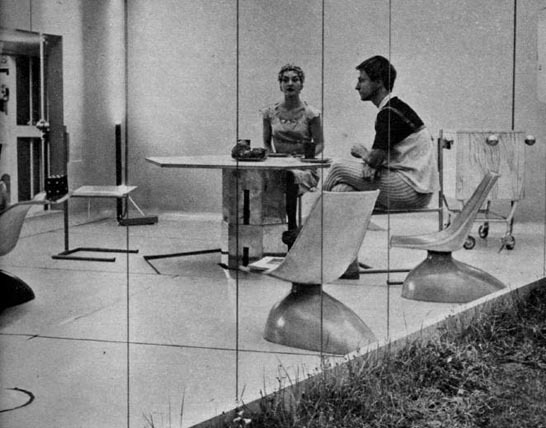 "bbook:  Alison & Peter Smithson for the Ideal Home Exhibition of 1956 designed ""House of Tomorrow"" c. 1980"
