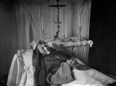 sutured-infection:  Sister Mary Josephine, 1873