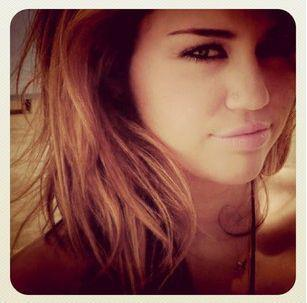 Physically me and Miley are miles apart but mentally she's always in my heart. ♥