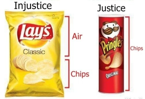 True! And I hate that! (but I love Pringles)