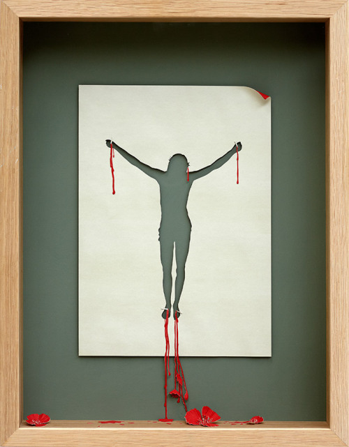 Framed Papercuts by Peter Callesen  [petercallesen.com]